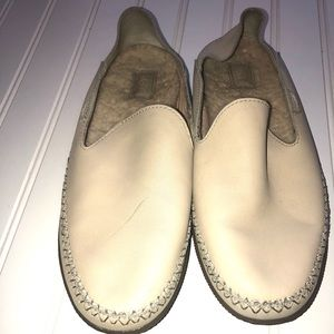 UGG Australia Elodie Wool Lined Leather Loafers